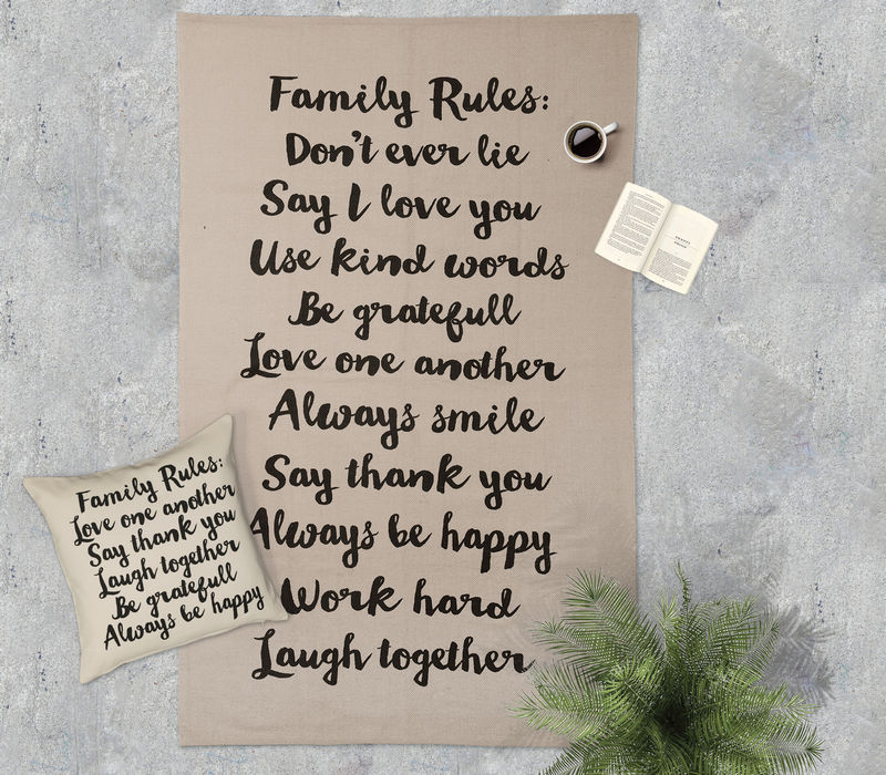 ΧΑΛΙ 120X180 FAMILY RULES
